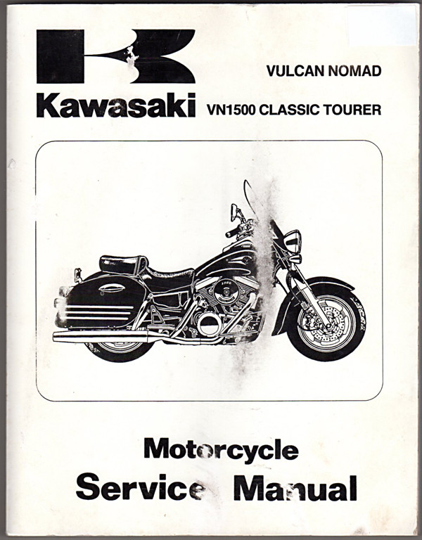 Image 0 of 1998 2001 Kawasaki Vulcan Nomad VN1500 Classic Tourer Motorcycle Service Manual