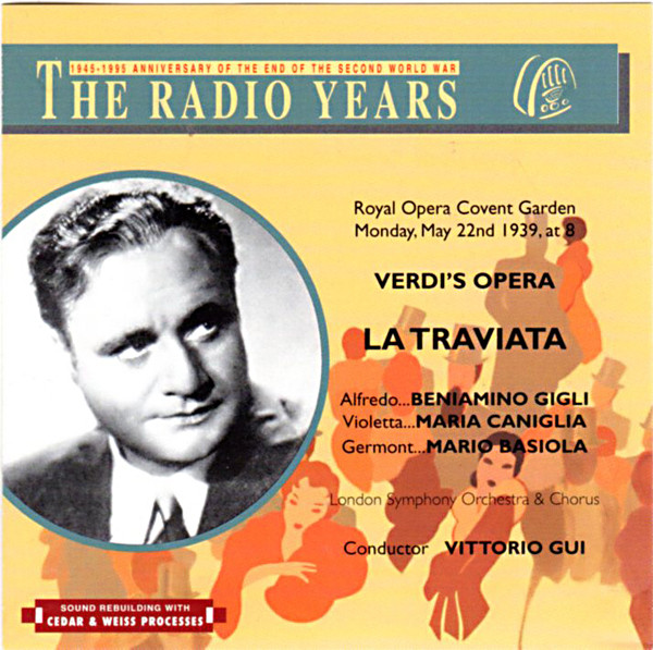 Image 0 of The Radio Years: Verdi's Opera La Traviata - Royal Opera Covent Garden, Monday,