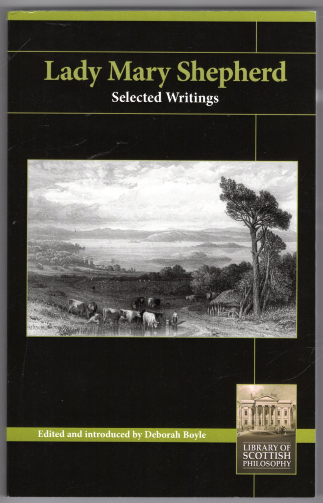 Image 0 of Lady Mary Shepherd: Selected Writings (Library of Scottish Philosophy)