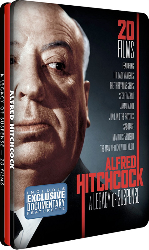 Image 0 of Alfred Hitchcock - Legacy of Suspense - Tin