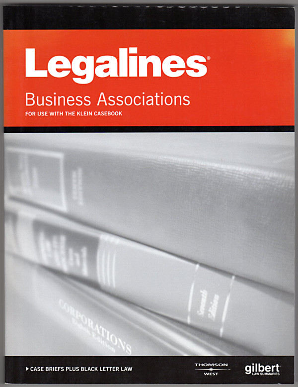 Image 0 of Legalines on Business Associations, 6th - Keyed to Klein