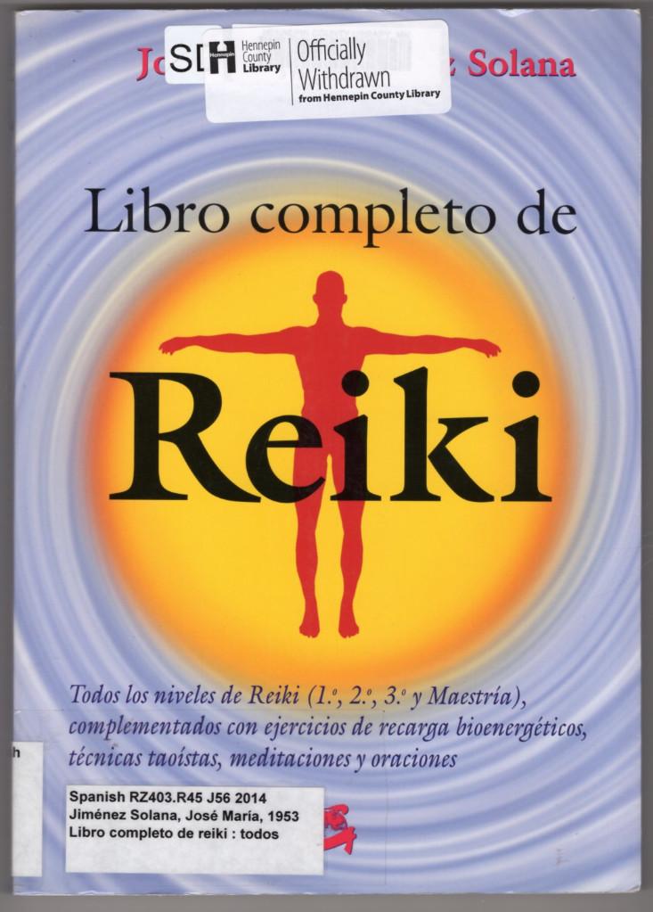 Image 0 of Libro completo de Reiki (Formato grande)