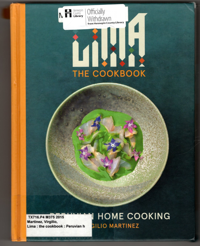 Image 0 of LIMA cookbook: Peruvian Home Cooking