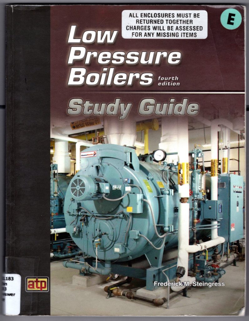 Image 0 of Low Pressure Boilers Study Guide