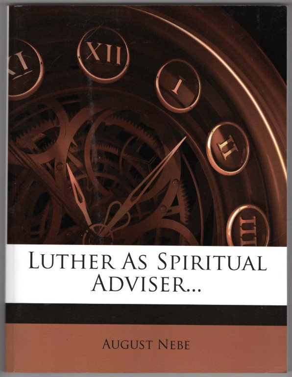 Image 0 of Luther As Spiritual Adviser.