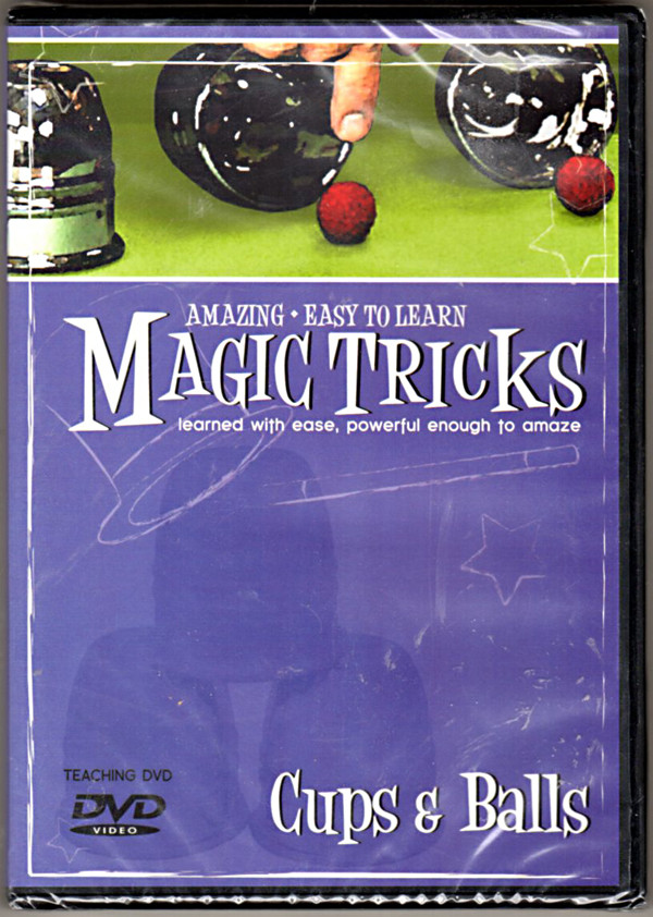 Image 0 of Amazing Easy To Learn Magic Tricks- Cups & Balls