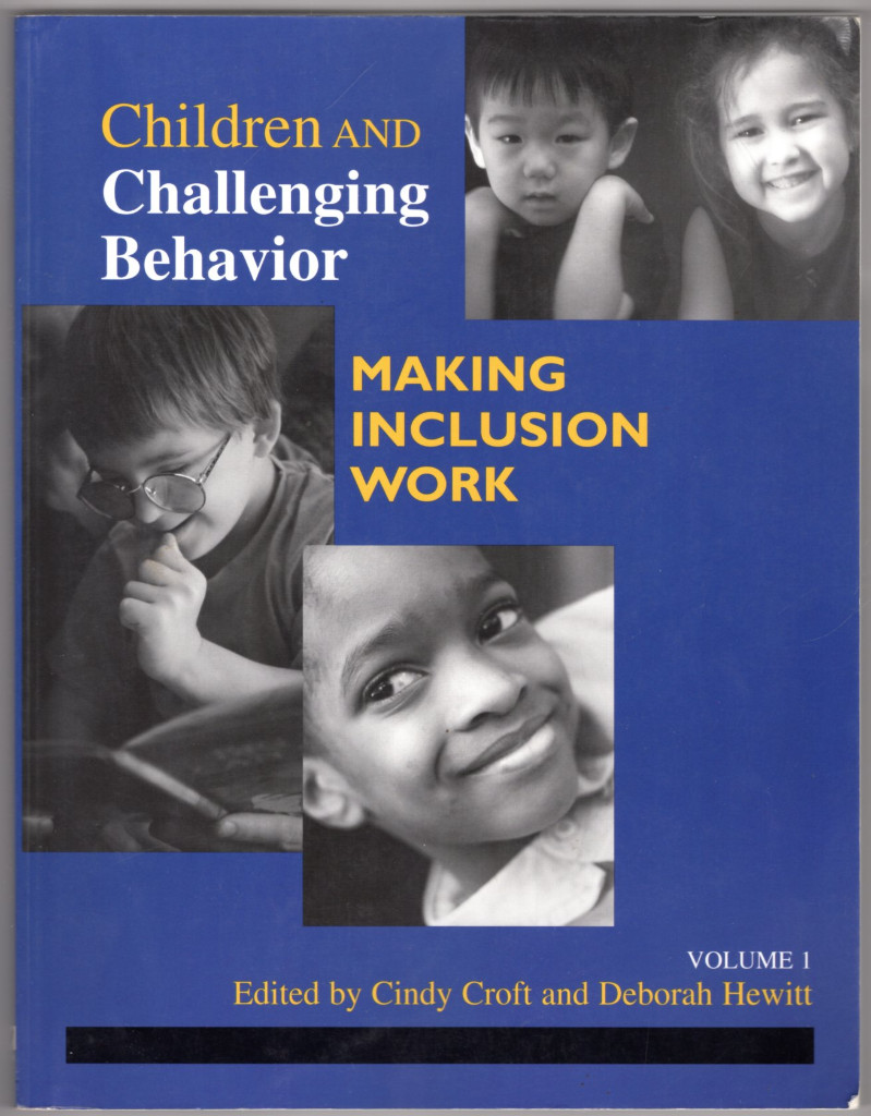 Image 0 of Children and Challenging Behavior: Making Inclusion Work