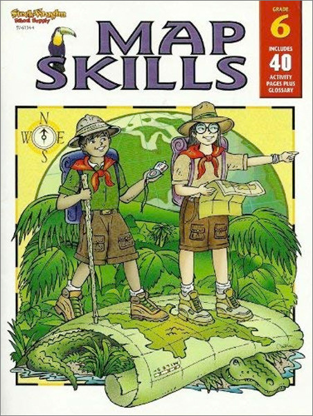 Image 0 of Map Skills Grade 6 (Map Skills-Sch Supply)