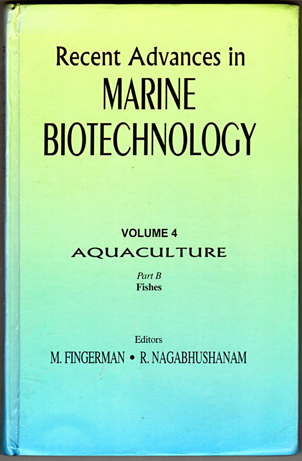 Image 0 of Recent Advances in Marine Biotechnology: Aquaculture-Fishes
