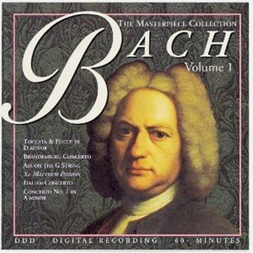 Image 0 of The Masterpiece Collection: Bach, Vol. 1