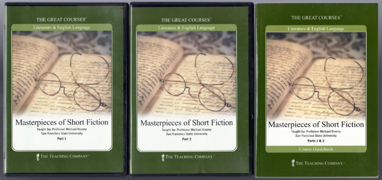Image 0 of Masterpieces of Short Fiction ~ Great Courses