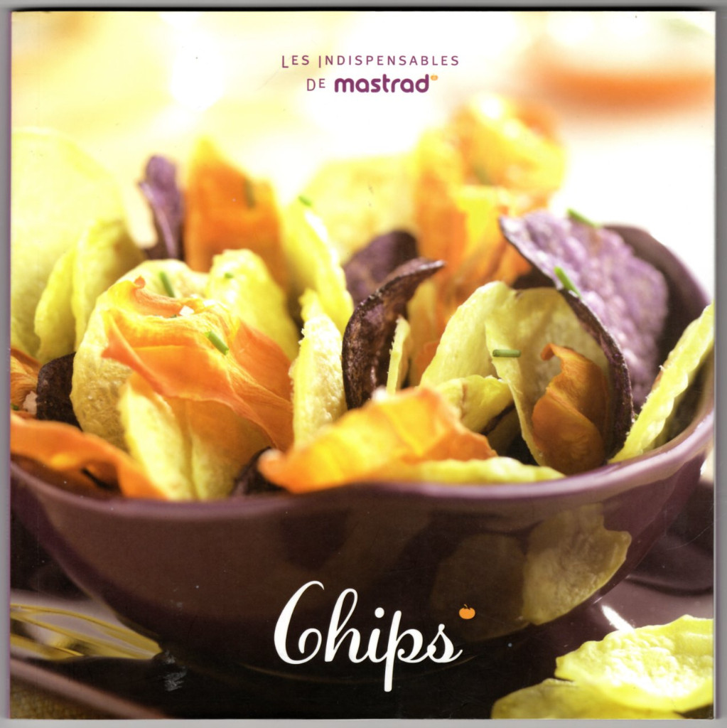 Image 0 of Mastrad TopChips Chip Recipe Cookbook (A64688)