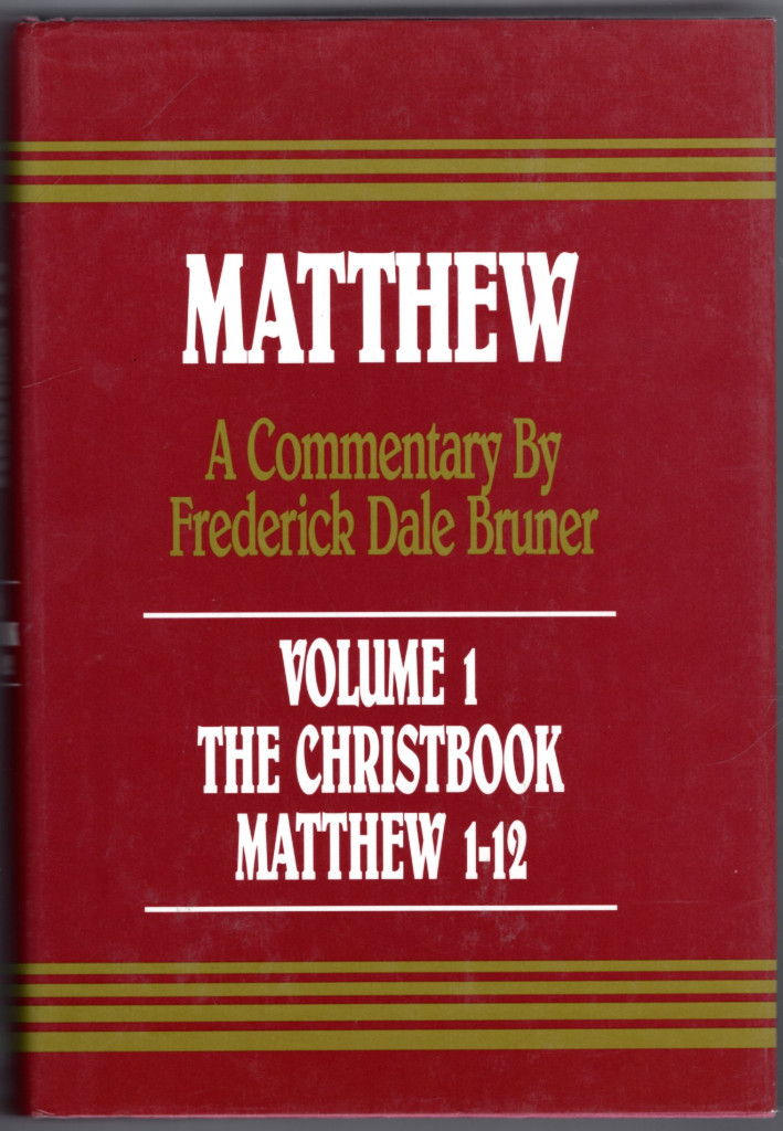 Image 0 of The Christbook: A Historical/Theological Commentary : Matthew 1-12 (v. 1)