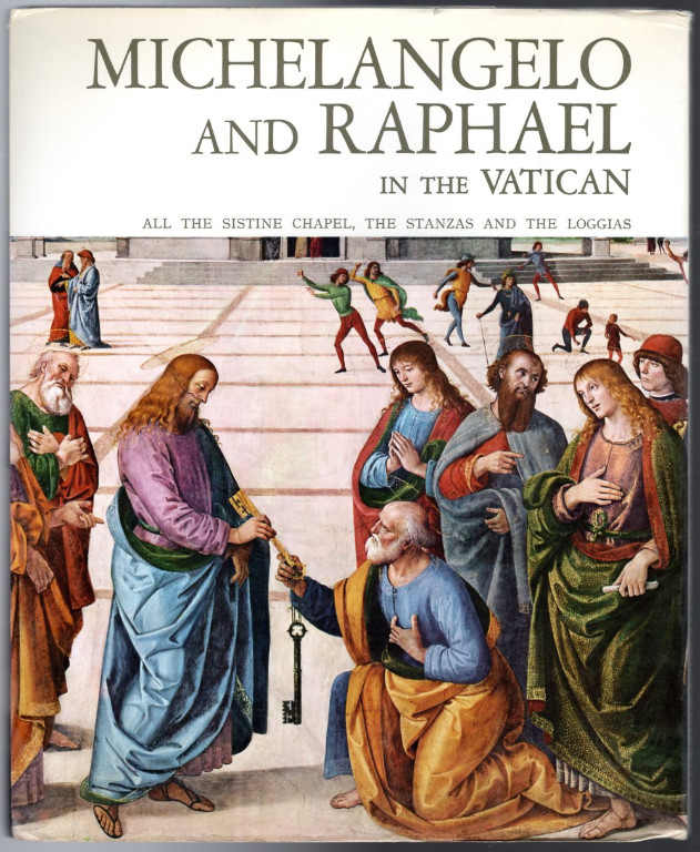 Image 1 of Michelangelo and Raphael in the Vatican (All the Sistine Chapel, the Stanzas and
