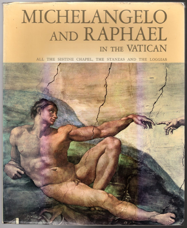 Image 0 of Michelangelo and Raphael in the Vatican (All the Sistine Chapel, the Stanzas and