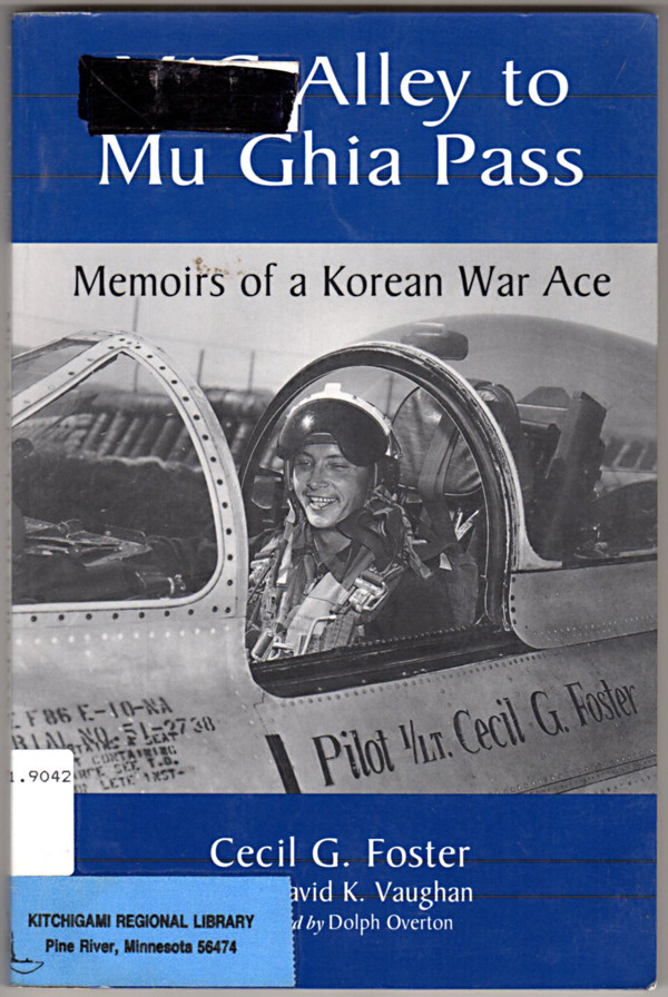 Image 0 of MIG Alley to Mu Ghia Pass: Memoirs of a Korean War Ace