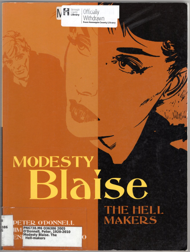 Image 0 of Modesty Blaise: The Hell Makers