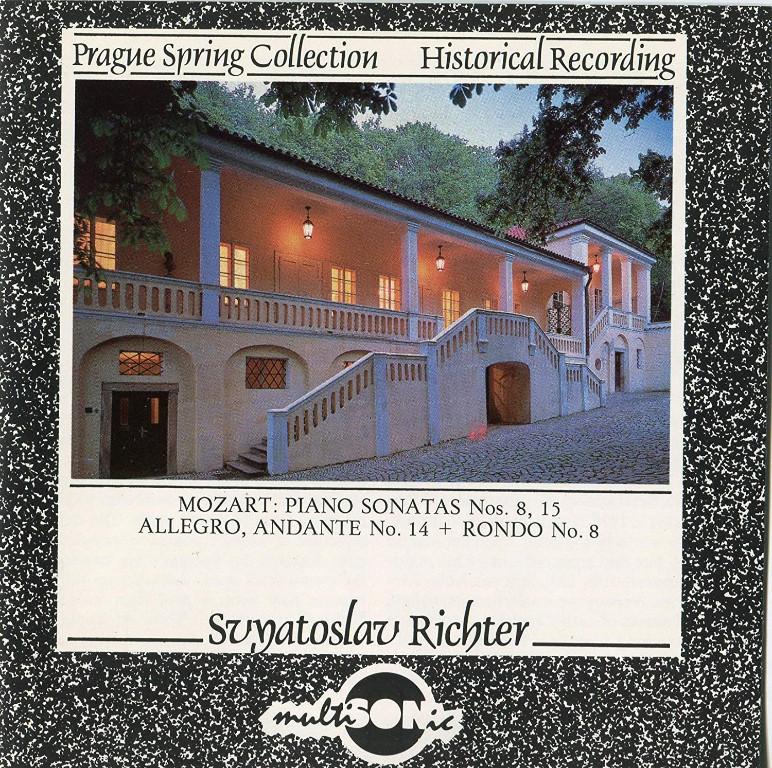Image 0 of Mozart: Piano Sonatas No 8 & 15