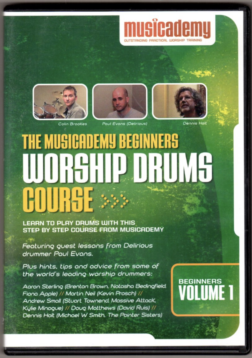 Image 0 of The Musicademy Beginners Worship Drums Course Volume 1