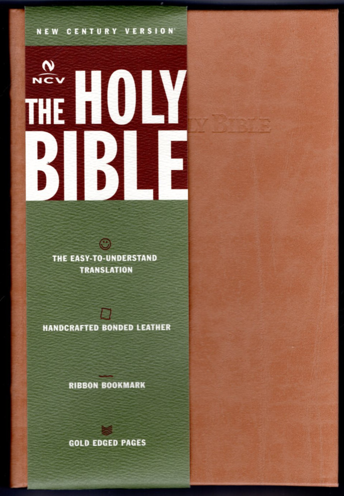 Image 0 of Holy Bible: New Century Version Classic, Camel Bonded Leather