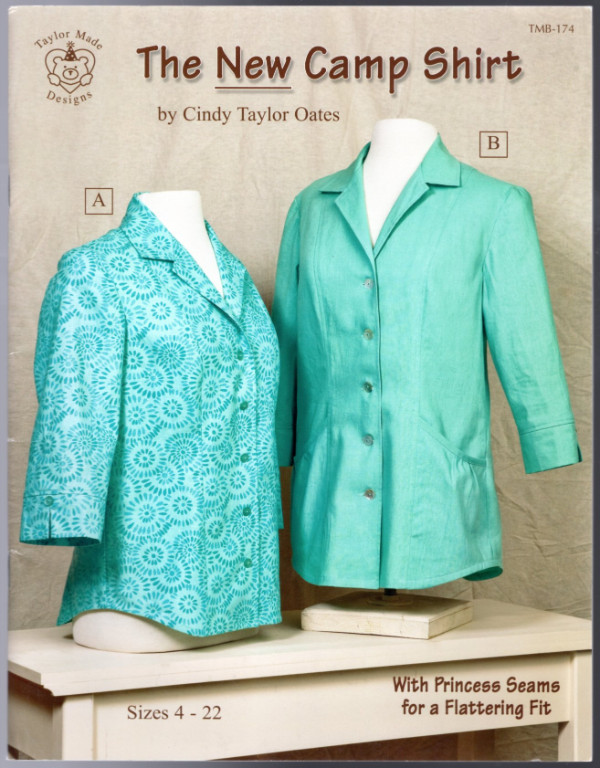 Image 0 of The New Camp Shirt Sewing Pattern Book