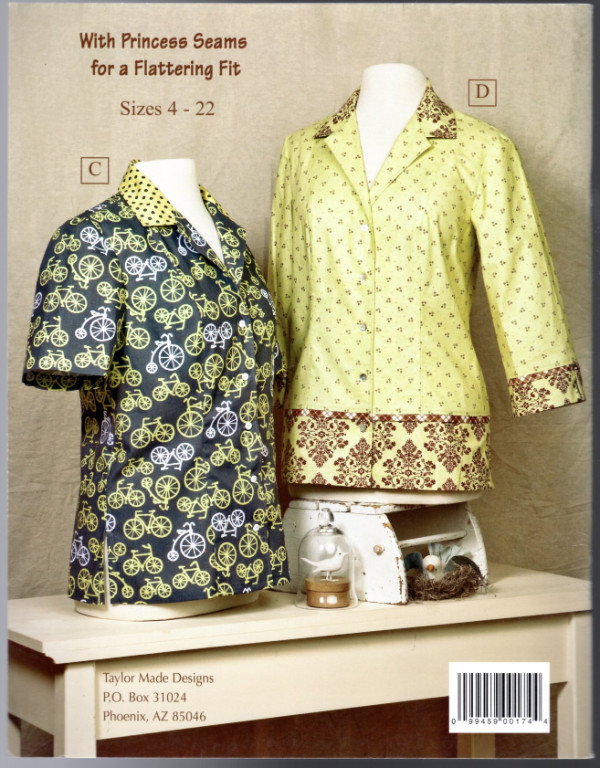 Image 1 of The New Camp Shirt Sewing Pattern Book
