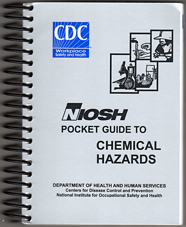 Image 0 of Niosh Pocket Guide to Chemical Hazards - September 2010 Edition