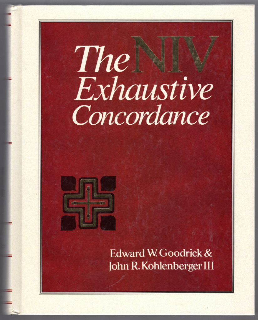 Image 0 of The NIV Exhaustive Concordance ( A Regency Reference Library Book)