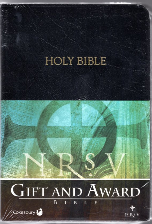 Image 0 of Cokesbury NRSV Gift and Award Bible: Black Simulated Leather