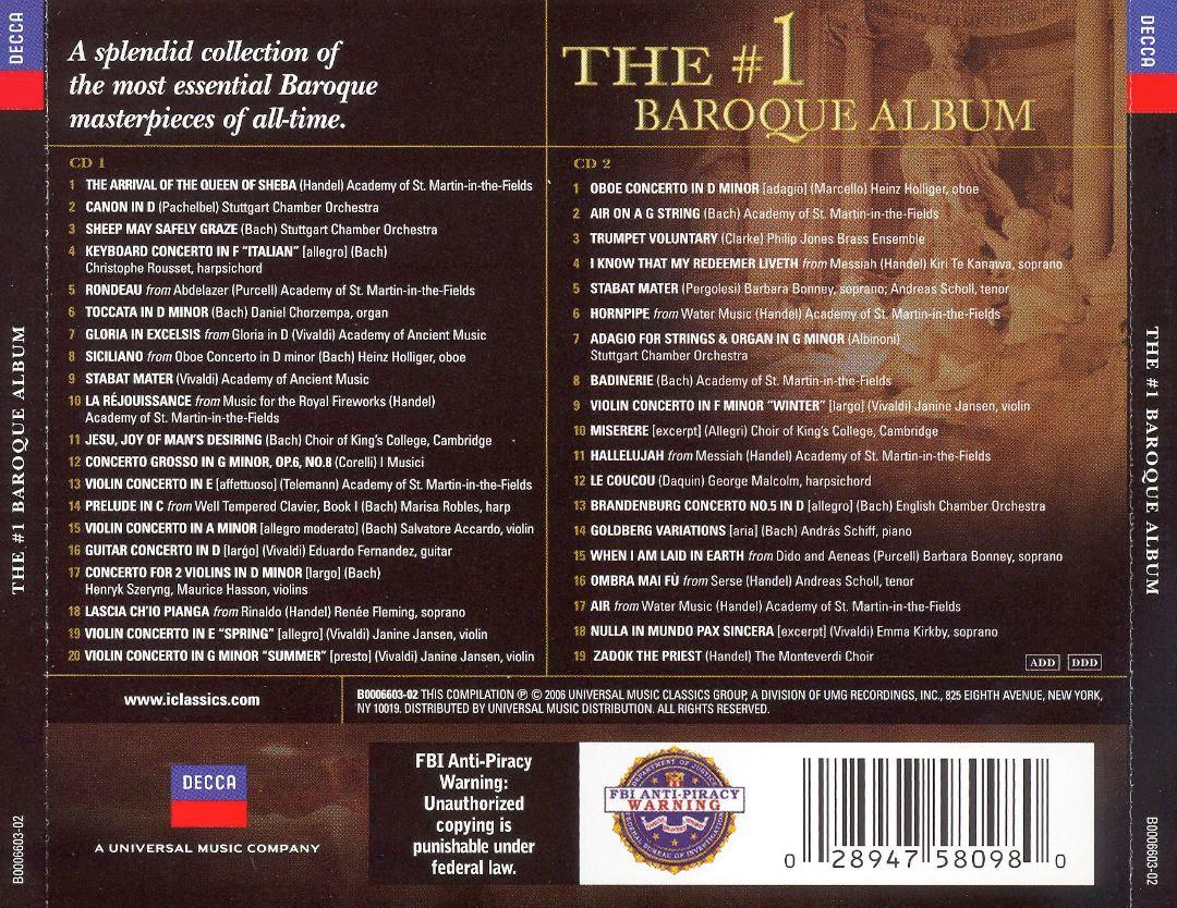 Image 1 of #1 Baroque Album
