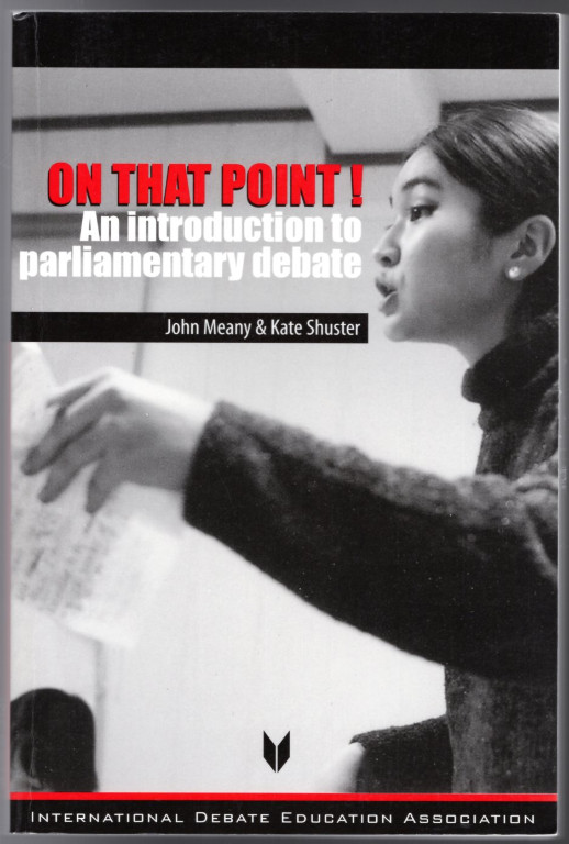 Image 0 of On That Point!: An Introduction to Parliamentary Debate