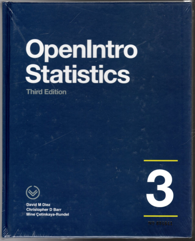 Image 0 of OpenIntro Statistics, FULL COLOR Hardcover