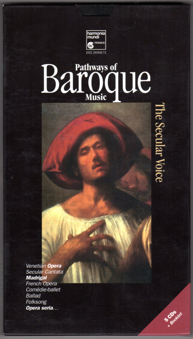 Image 0 of Pathways of Baroque Music - Secular Vocal Music