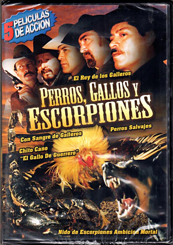 Image 0 of Perros, Gallos y Escorpiones: 5 Peliculas de Accion - Nido de Escorpiones Ambici