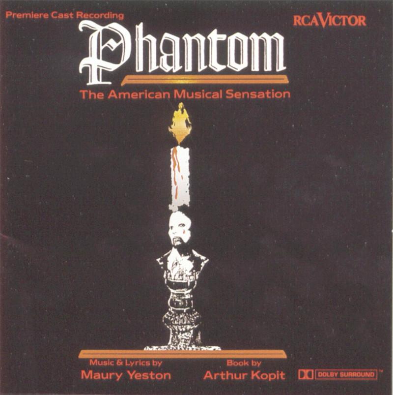 Image 0 of Phantom: The American Musical Sensation (1992 Studio Cast)