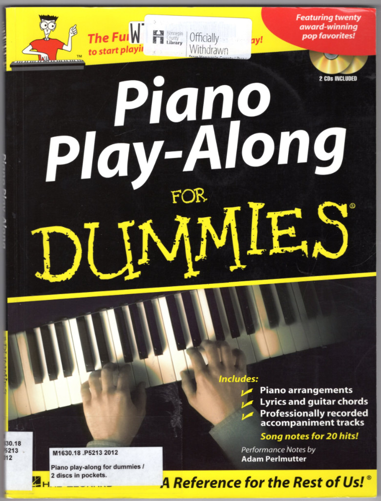 Image 0 of Piano Play-Along for Dummies