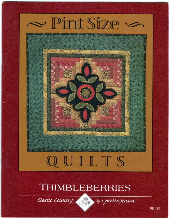 Image 0 of PINT SIZE QUILTS by LYNETTE JENSEN and THIMBLEBERRIES SC Book