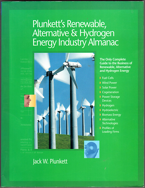 Image 0 of Plunkett's Renewable, Alternative & Hydrogen Energy Industry Almanac