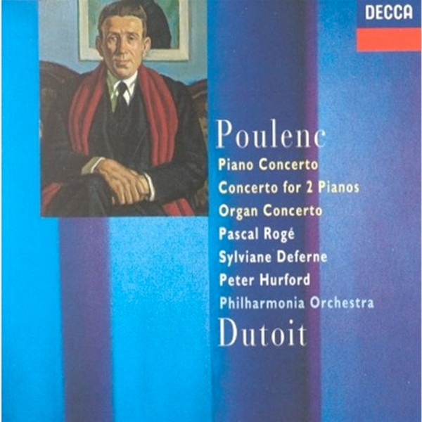 Image 0 of Poulenc: Piano Concerto, Concerto for 2 Pianos, Organ Concerto