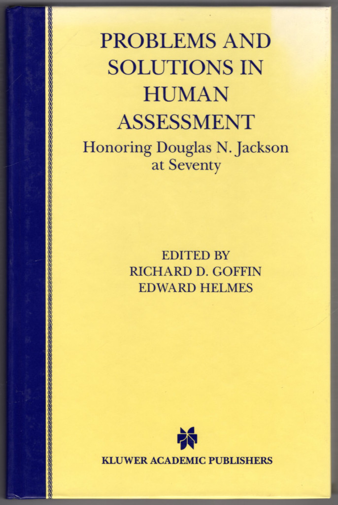 Image 0 of Problems and Solutions in Human Assessment: Honoring Douglas N. Jackson at Seven
