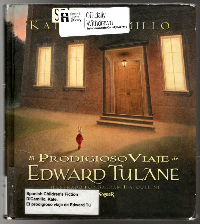 Image 0 of El Prodigioso Viaje De Edward Tulane/ The Miraculous Journey of Edward Tulane (S