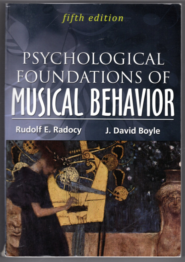Image 0 of Psychological Foundations of Musical Behavior