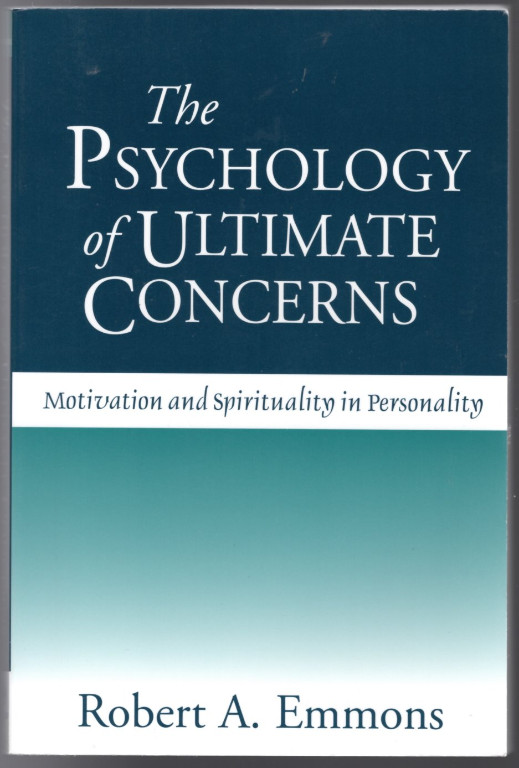 Image 0 of The Psychology of Ultimate Concerns: Motivation and Spirituality in Personality