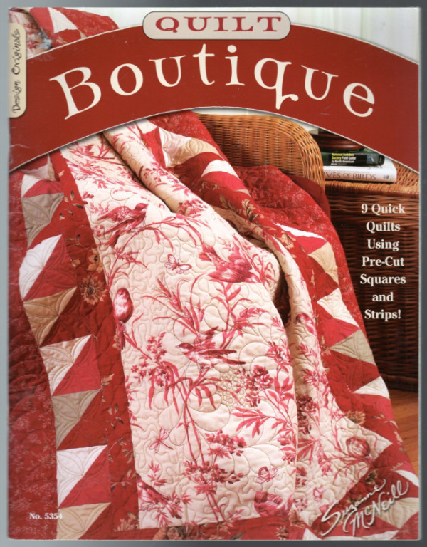 Image 0 of Quilt Boutique: 9 Quick Quilts Using Pre-Cuts Square and Strips