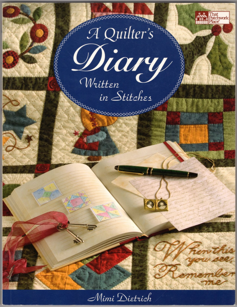 Image 0 of Quilter's Diary, A: Written in Stitches