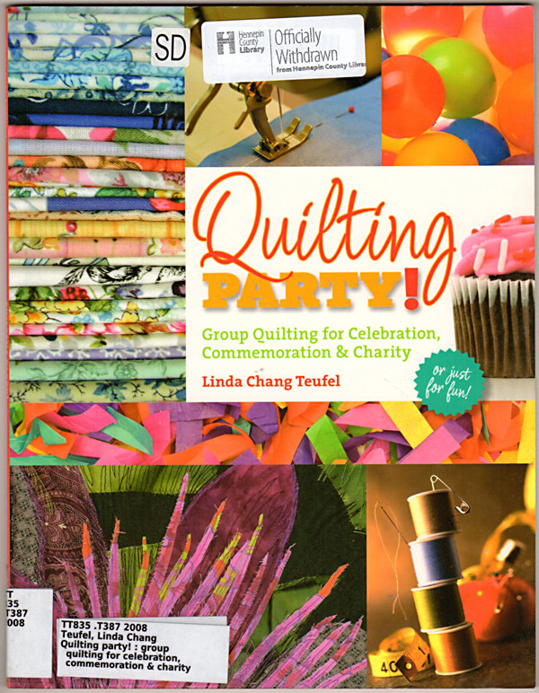 Image 0 of Quilting Party: Group Quilting for Celebration, Commemoration & Charity