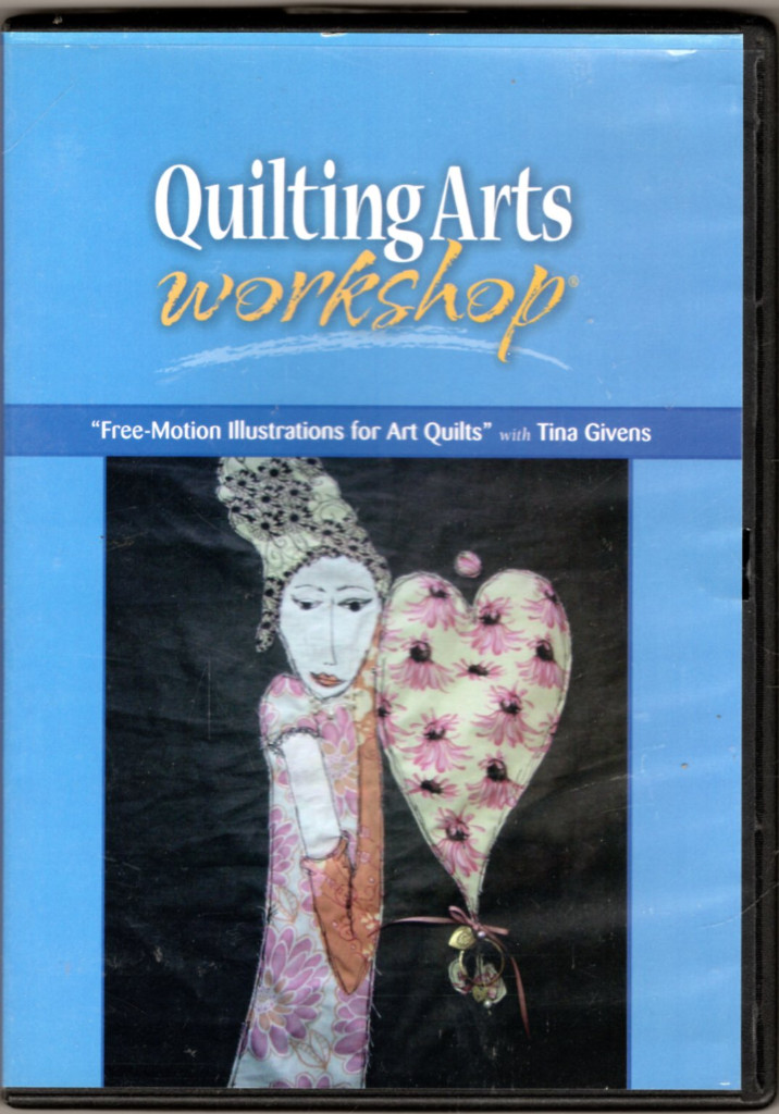 Image 0 of Free-Motion Illustrations for Art Quilts (DVD)