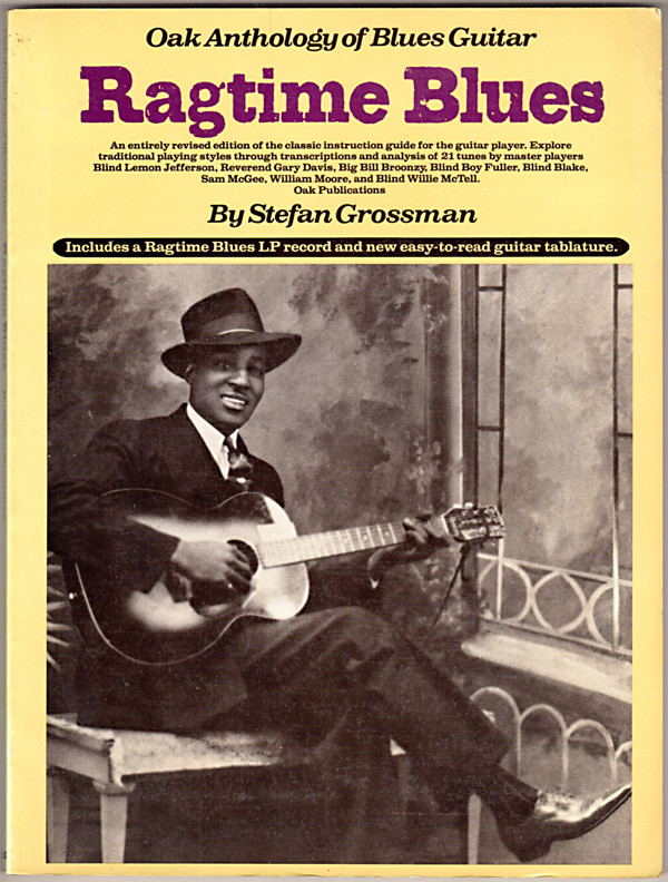 Image 0 of Ragtime Blues (Oak Anthology of Blues Guitar)