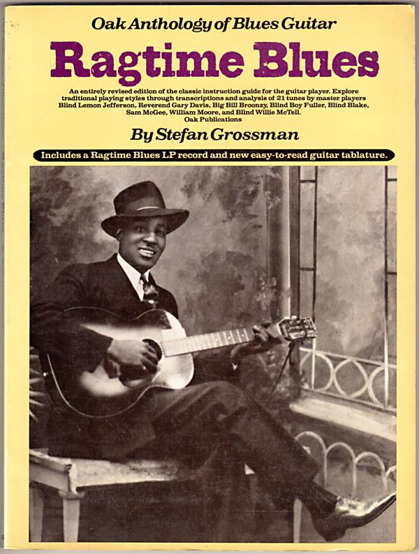 Image 0 of Ragtime Blues (Oak Anthology of Blues Guitar)