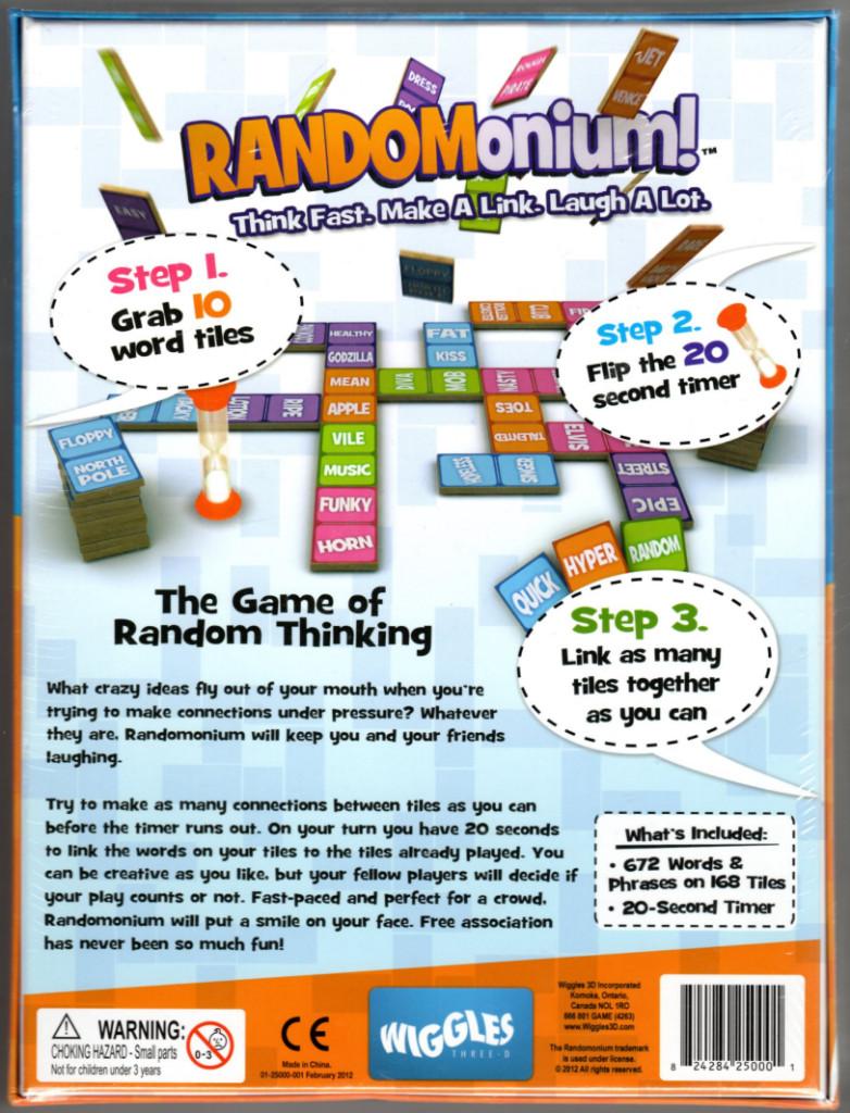 Image 1 of Wiggles 3D Randomonium